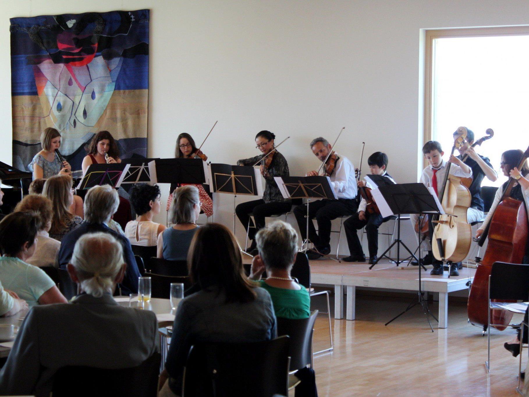 """Kultur in Bildstein"" lud zum 5. Klassik Café"