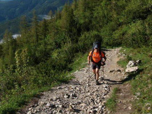 Insgesamt 1200 Kilometer wird Harald Kaufmann laufen.
