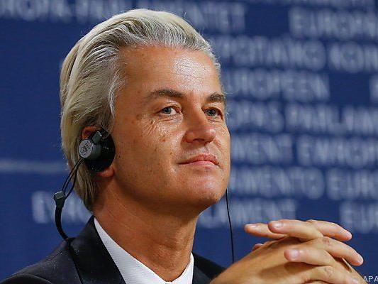 Niederländer Wilders gab Scheitern bekannt