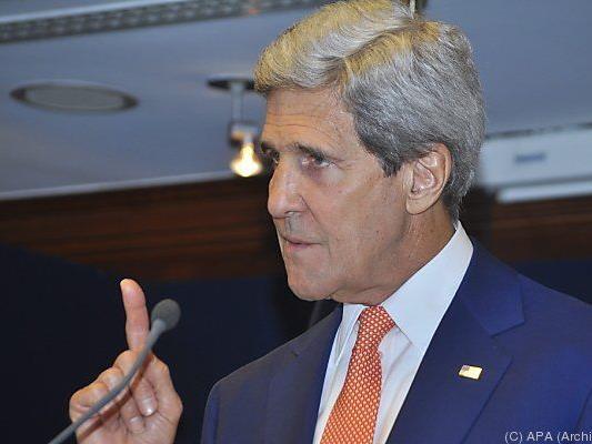 Auch Kerry kommt nach Wien