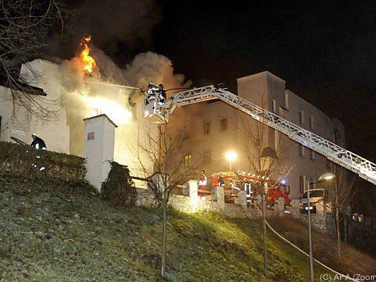 22-Jähriger löste Brand in Hall aus