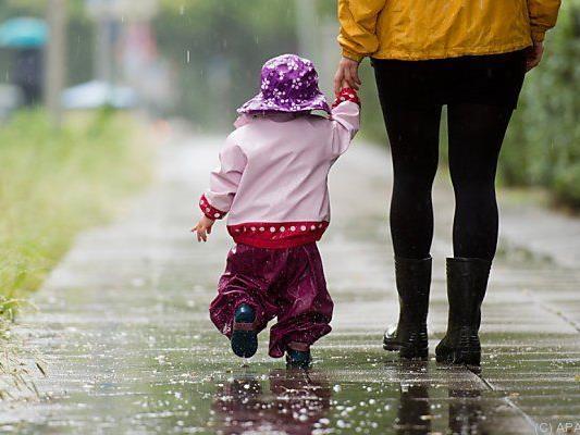 Mit Regen ist zu rechnen