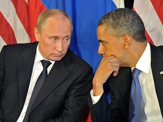Obama schickte seinem Kollegen Putin einen Brief