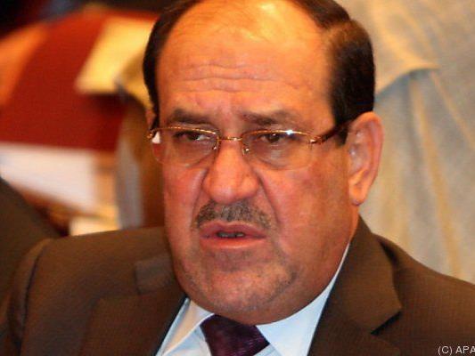 Irakischer Ministerpräsident Nuri al-Maliki