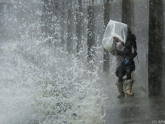"Taifun ""Narki"" wütete bereits auf den Philippinen"