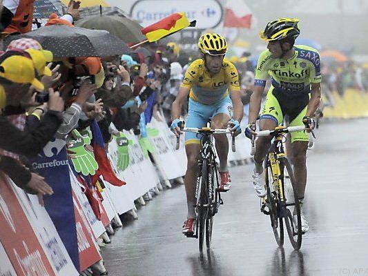 Nibali brach mit Contador nächster Konkurrent weg