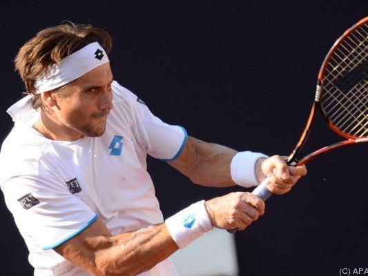 Ferrer warf den 17-Jährigen aus dem Turnier