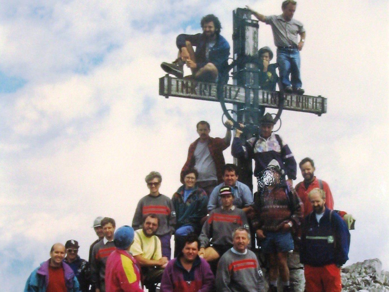 30 Jahre Gipfelkreuz Fundelkopf, 1994.