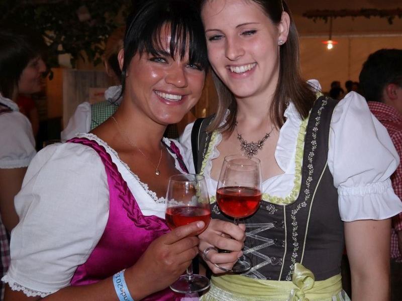 Charmante Besucher pilgerten zum Landesfeuerwehrfest in Alberschwende.