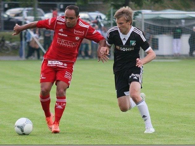 Reinaldo Ribeiro schoss das 1:0 für den Titelverteidiger Andelsbuch in Egg.