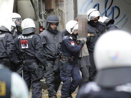 Polizeieinsatz in Wien erntete Hohn und Spott