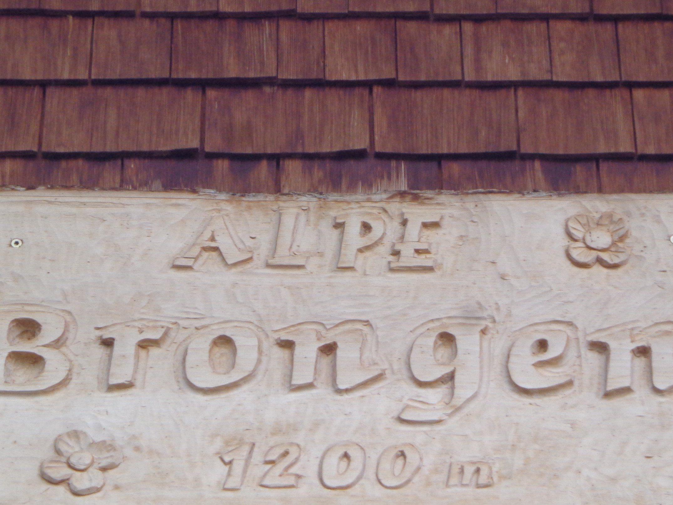 Senn-Alpe Brongen, Egg-Schetteregg.