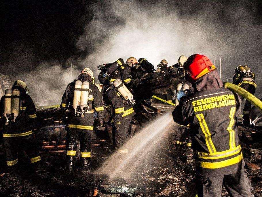 Grioßbrand in Neuer Mittelschule in Oberösterreich.