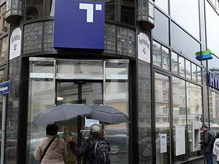Diese Bank im ersten Bezirk ist am Freitag überfallen worden.