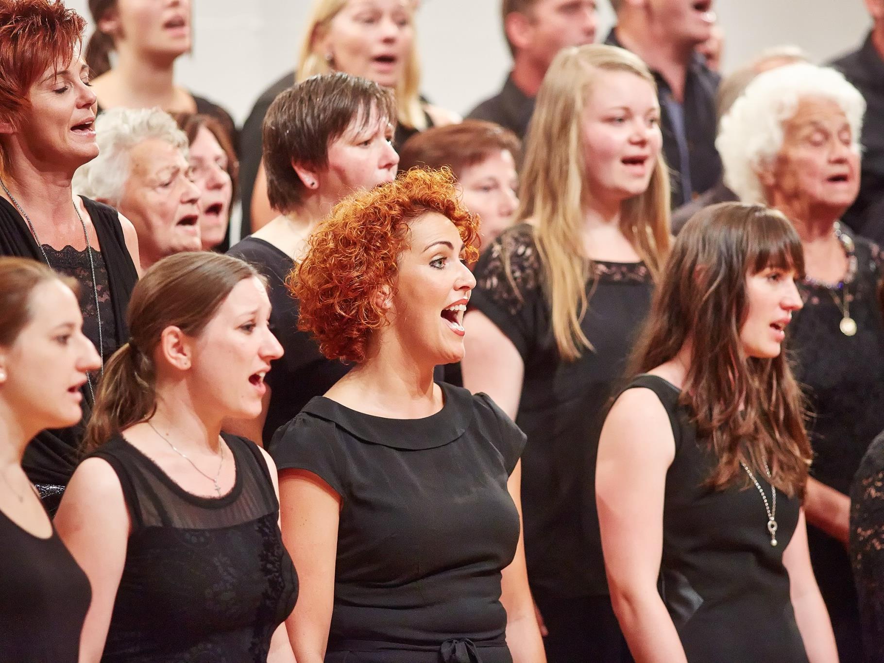 Am Samstag, 12. Juli präsentieren die 75 Teilnehmer beim Abschlusskonzert die erarbeiteten Chorwerke.