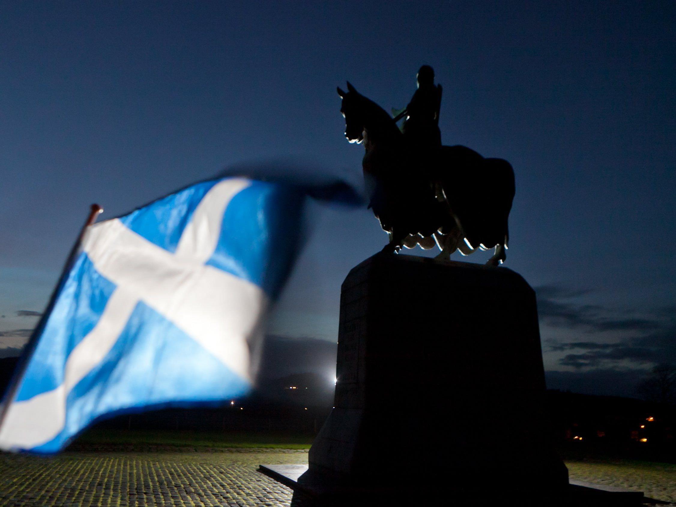 Referendum am 18. September über Loslösung vom Vereinigten Königreich.