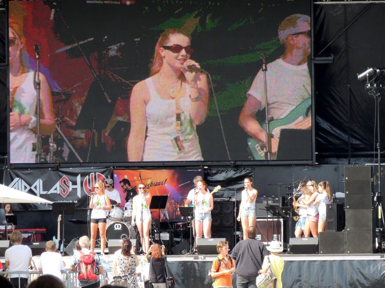 Großer Auftritt für crossculture-Band