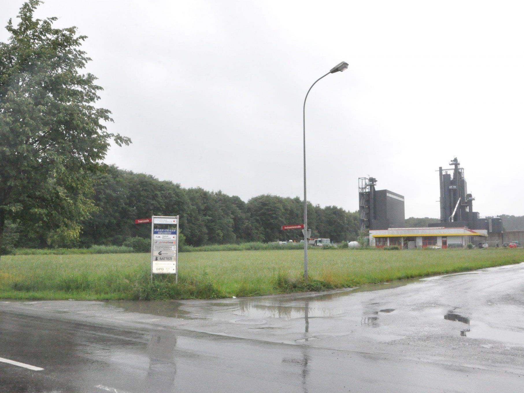 Im Sulner Industriegebiet wird das Abfallzentrum der Regio Vorderland errichtet.