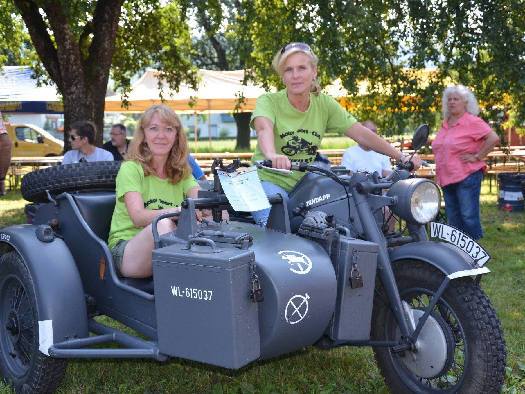 Treffen fr alte Motorrder Weiler MOST Motorrad
