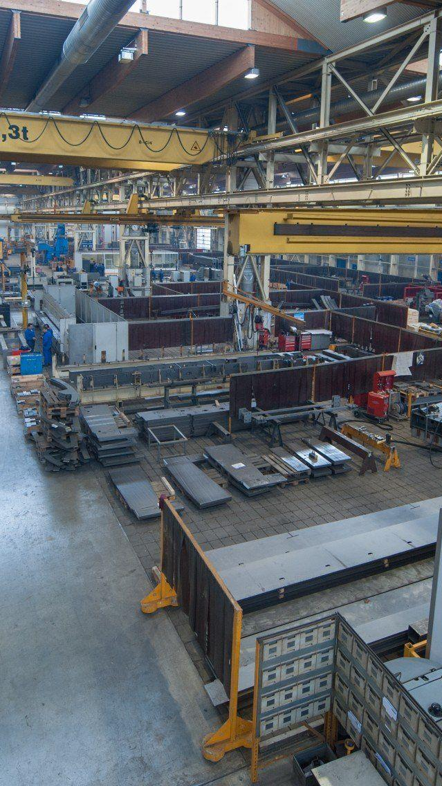 Maschinenbauer (im Bild: Doppelmayr) haben gute Exportzahlen.