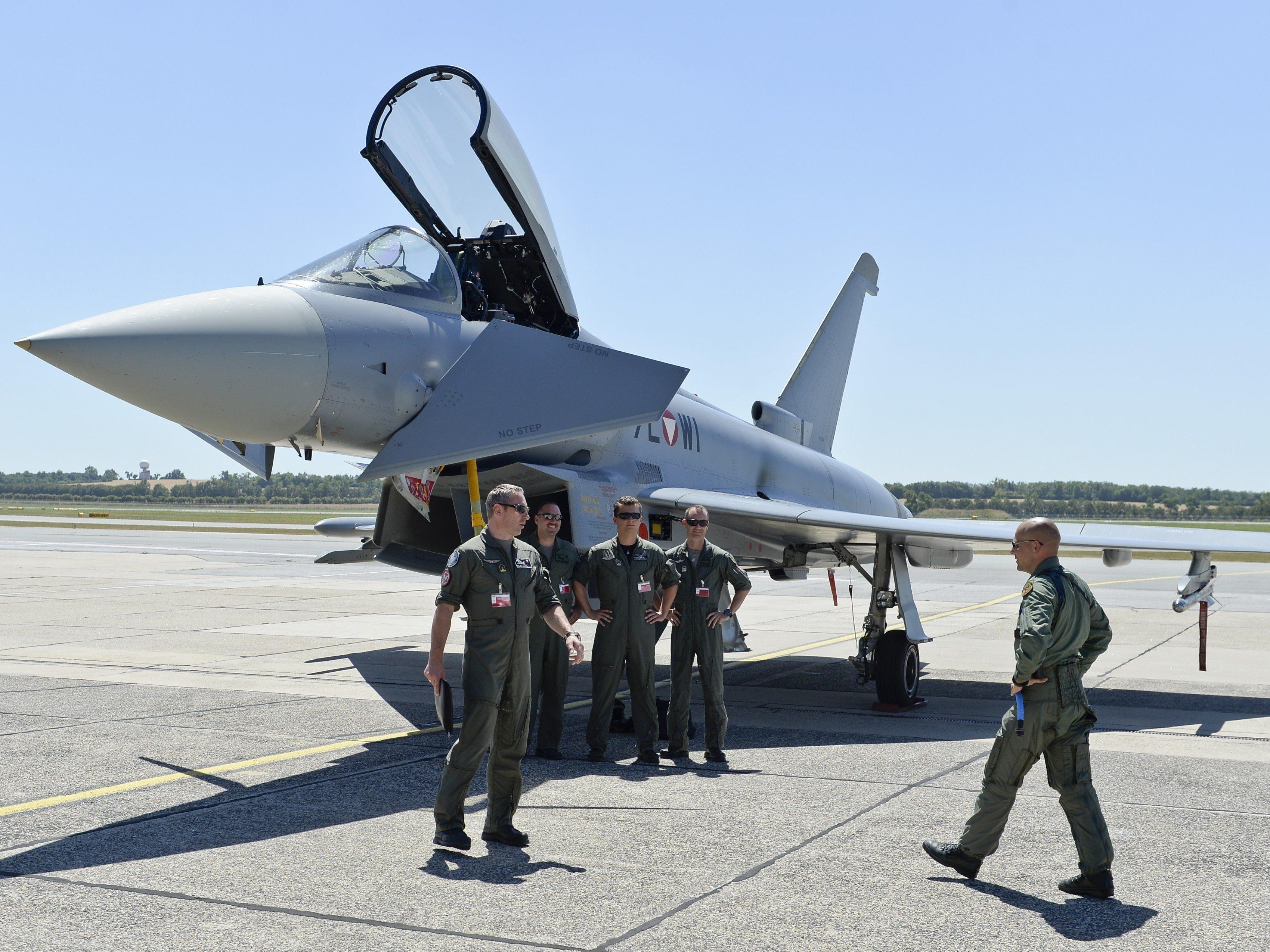 Laut Offiziersgesellschaft des Bundesheeres sei der Betrieb der Eurofighter in Frage gestellt.