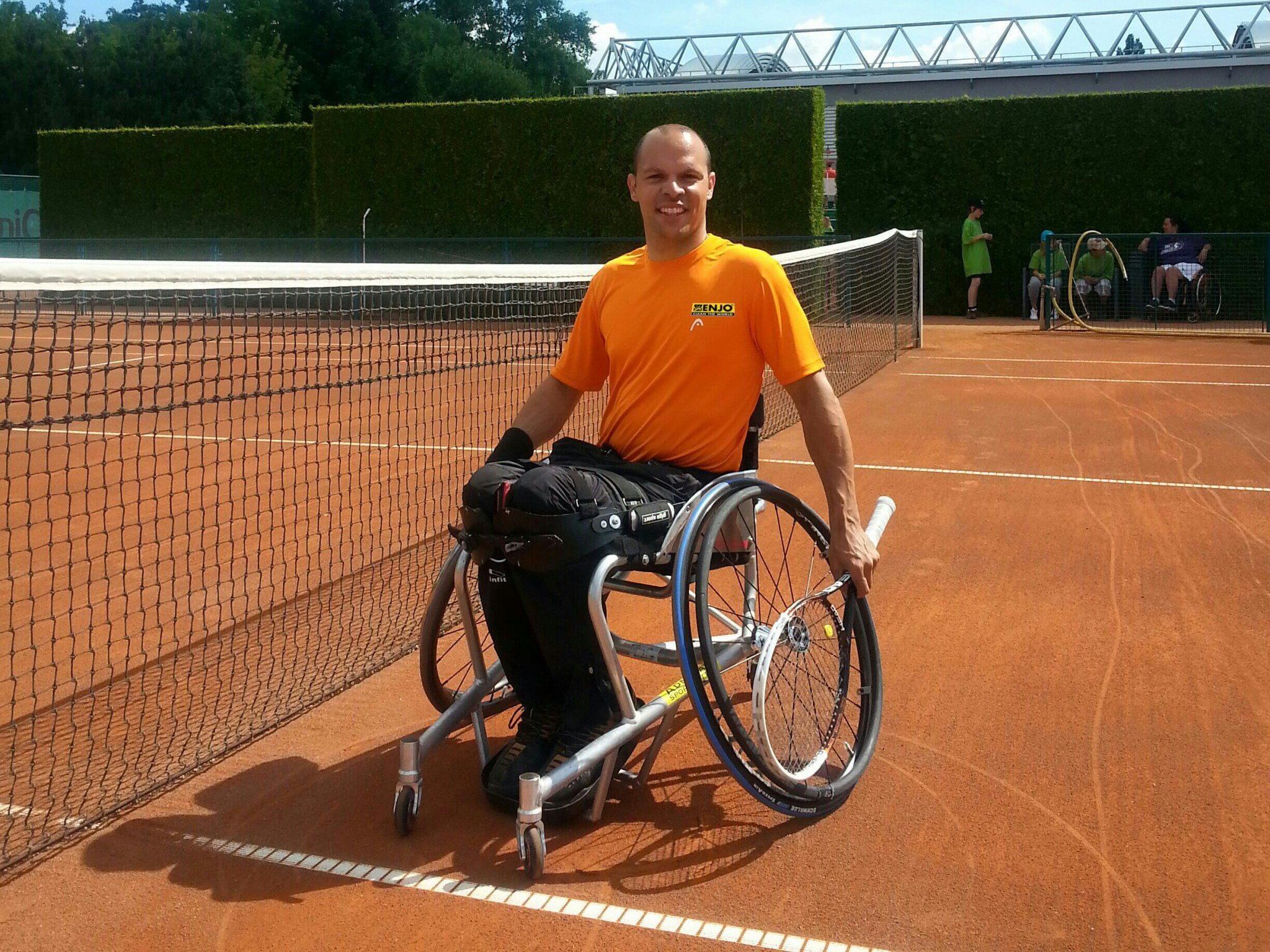 Vierter Turniersieg für Thomas Flax im Tennis Doppelbewerb.