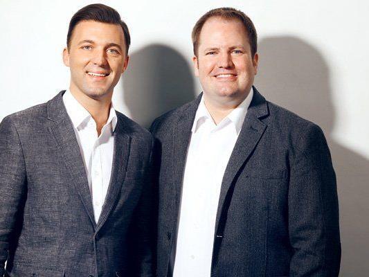 Geschäftsführer Mario Mally und Programmchef Dirk Klee.