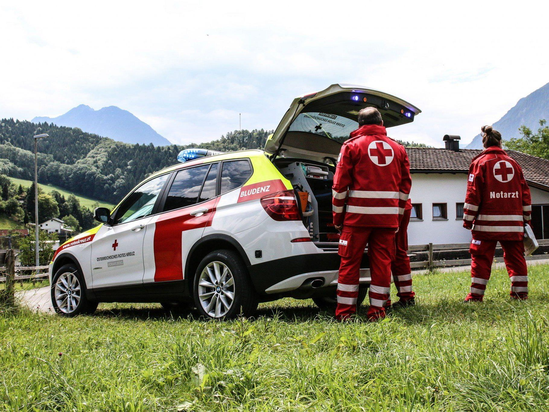 Das neue Notarzteinsatzfahrzeug in Bludenz: rasch und flexibel am Einsatzort!