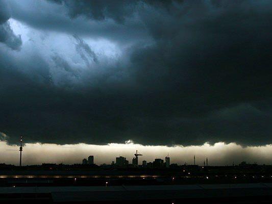 Gewitter drohen in Wien und über dem Neusiedler See