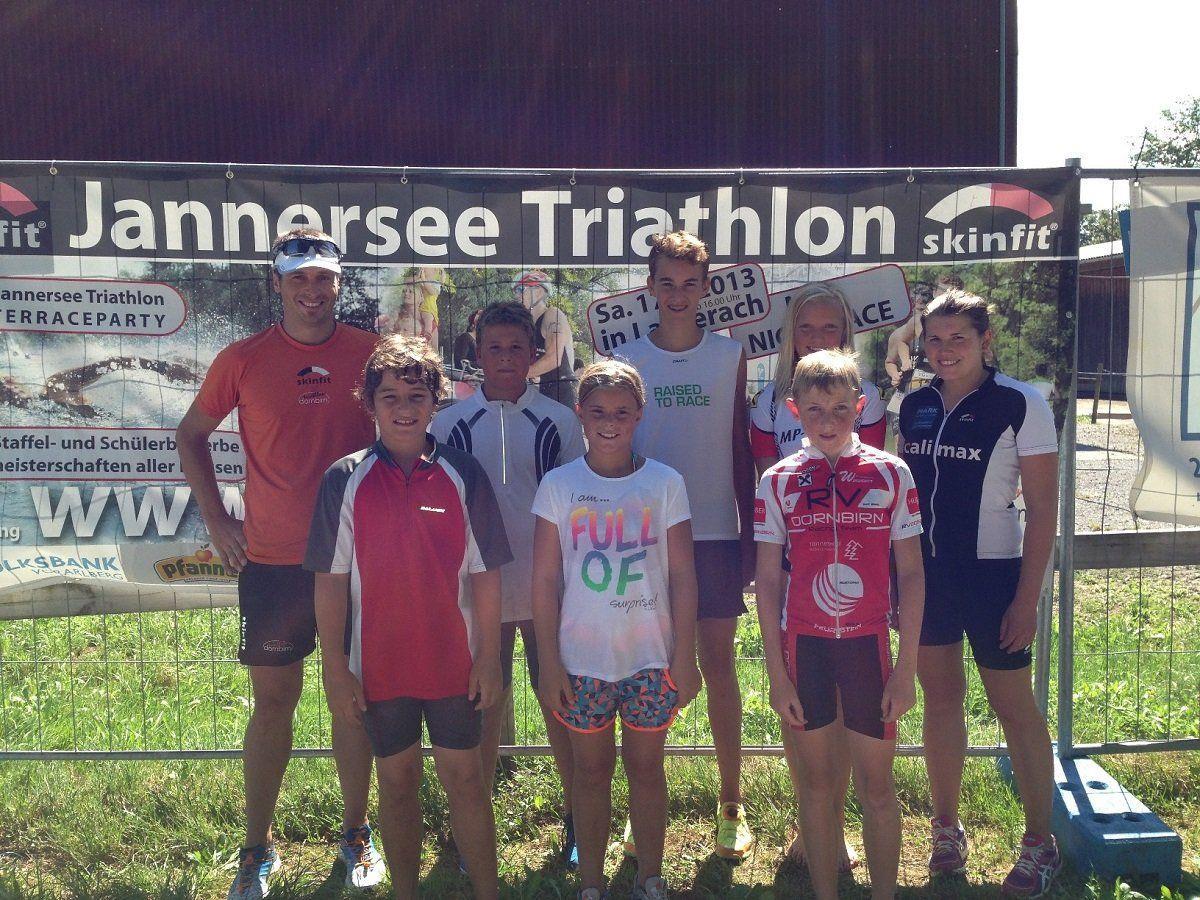 Das Probetraining für den Jannersee Triathlon geht am Samstag in Lauterach in Szene.