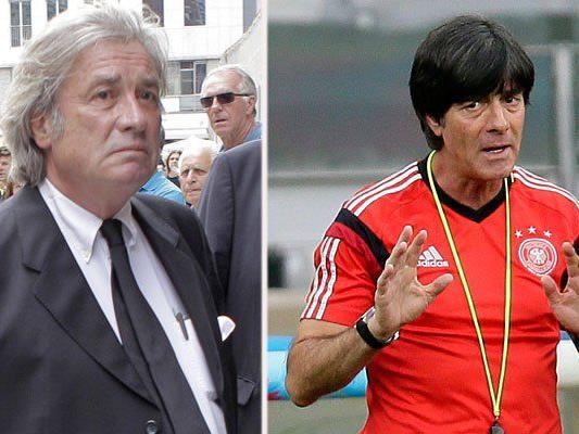 """Jeannée wünscht Deutschland den """"Endspielsieg"""" und brachte Trainer Jogi Löw ins Deutschlandlied ein"""