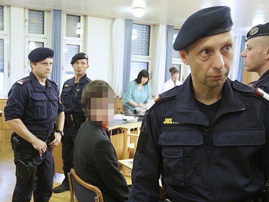 Josef S. beim Prozess in Wien