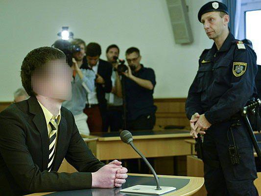 Der Angeklagte Josef S. beim Prozess in Wien