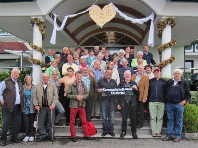 Kameradschaftsbund Klostertal auf froher Fahrt
