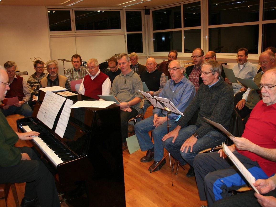Der Nenzinger Männerchor sucht sangesfreudige Neumitglieder.
