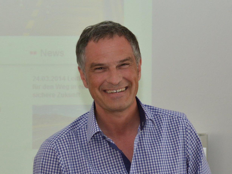 Mario Leiter gibt österreichweit Seminare zum Thema Verkehrssicherheit.