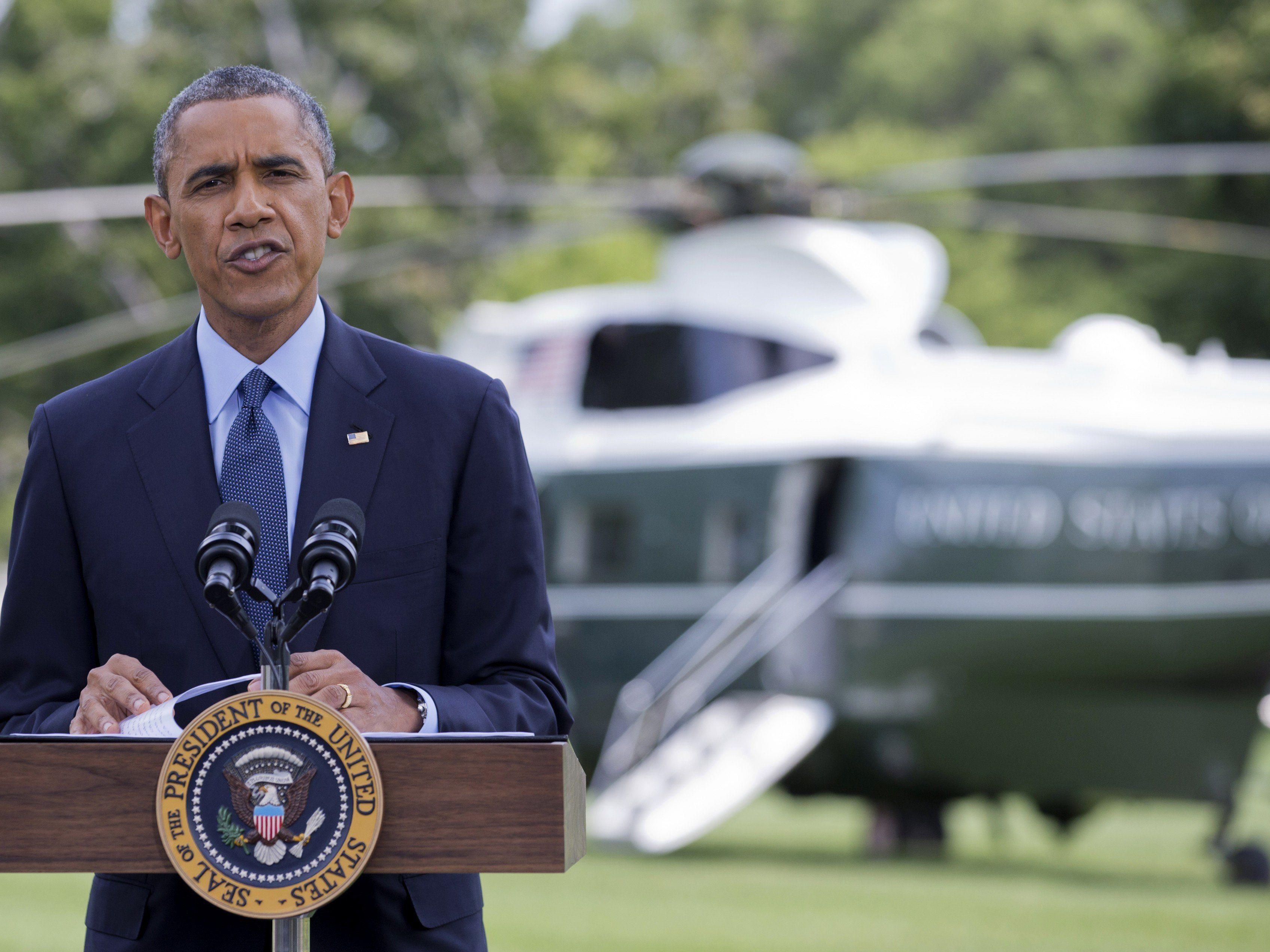 Obama: Finanz-, Energie- und Rüstungssektor betroffen.