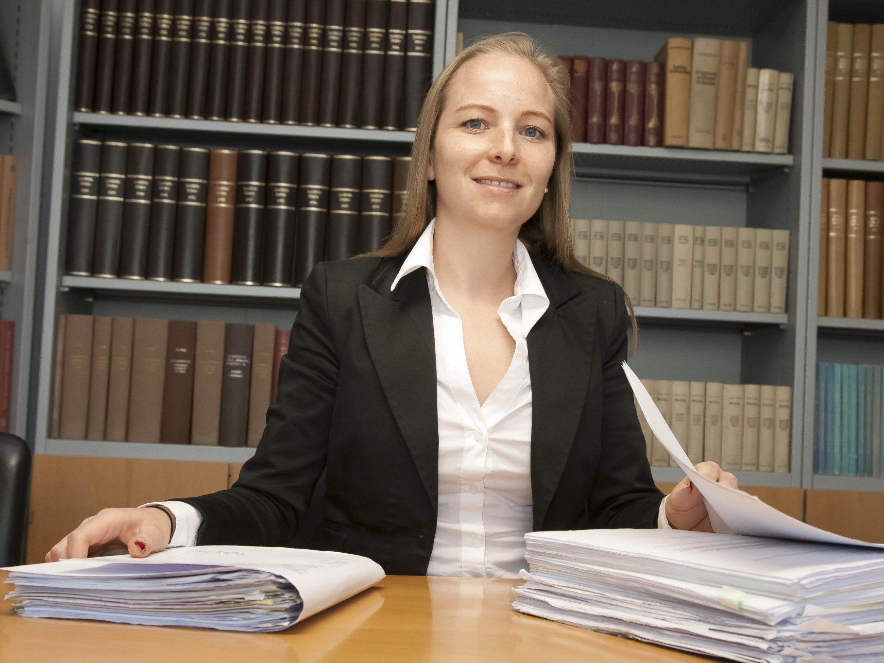 Anwältin Olivia Lerch ist froh, den Prozess vom Tisch zu haben.