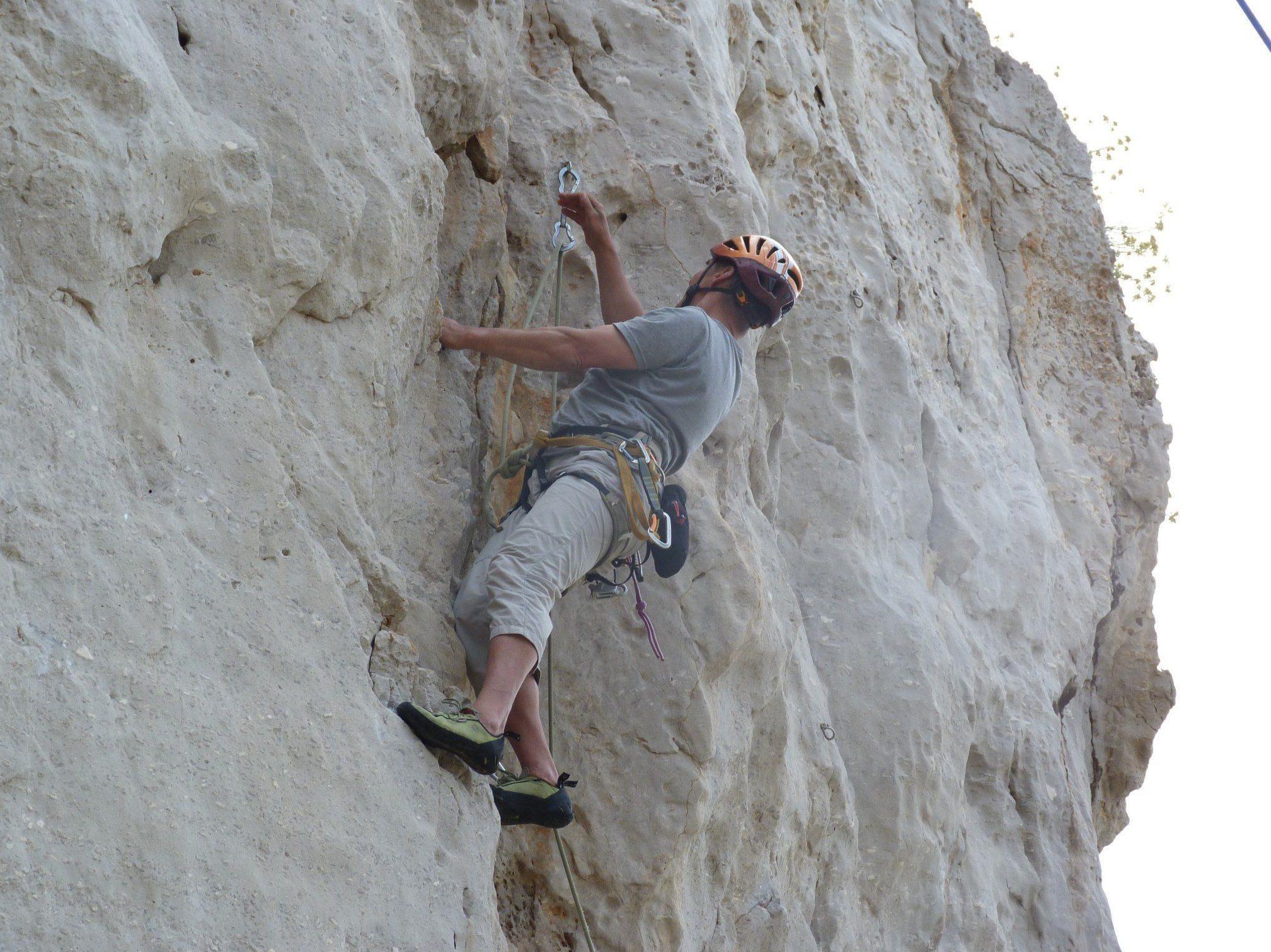 Achtung: Das Klettercamp ist nicht für Einsteiger oder Kletterneulinge geeignet.