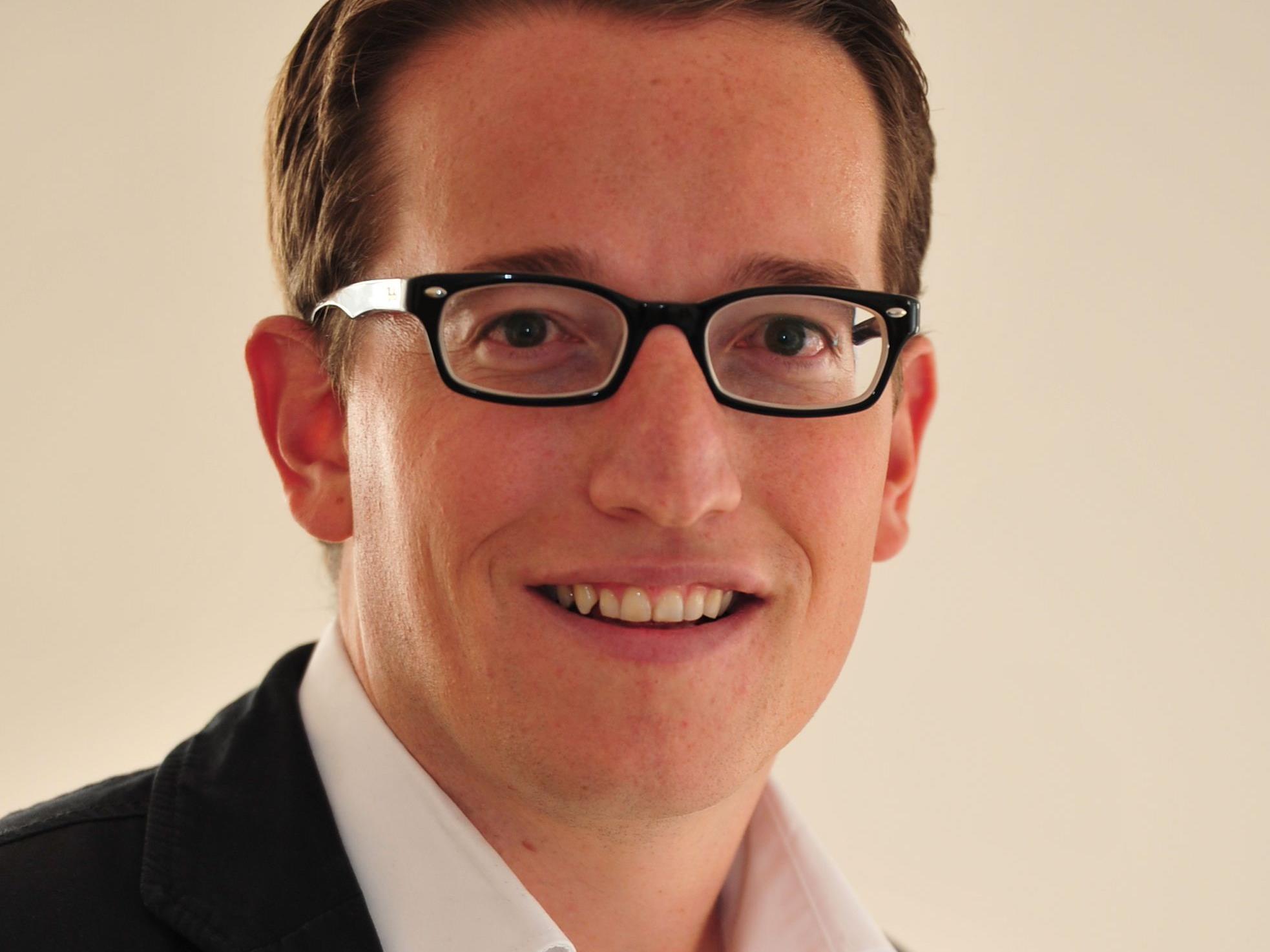 Der 30-jährige Urs Treuthardt übernimmt ab 1. Jänner 2015 die Geschäftsführung der Bodensee-Vorarlberg Tourismus GmbH.