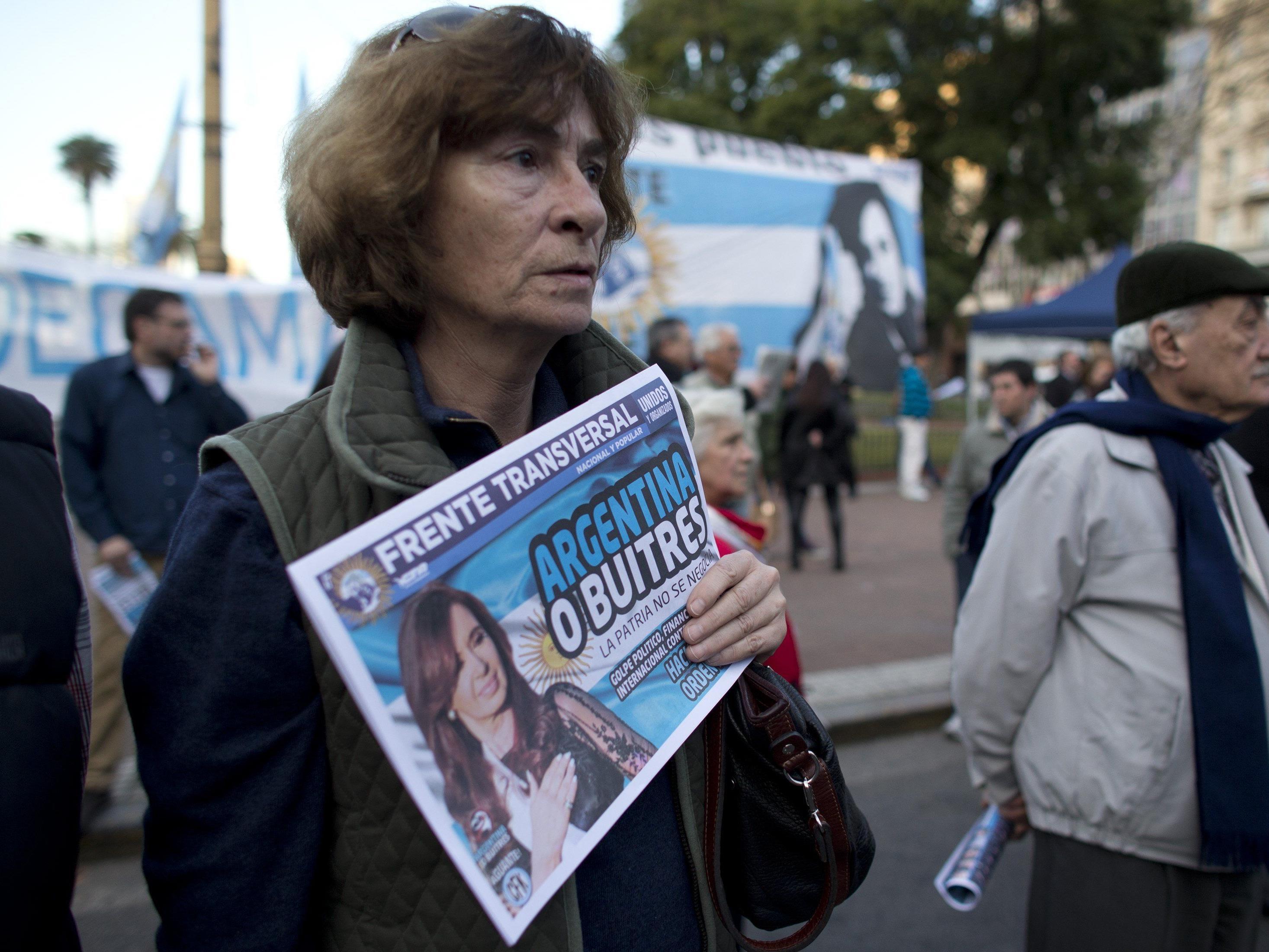 Argentinien: Rund 540 Millionen Dollar an Staatsschulden bei internationalen Gläubigern nicht getilgt