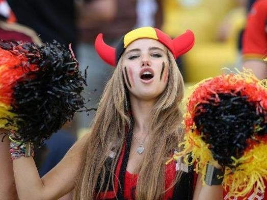Ein Foto bringt der jungen Belgierin Kritik ein.