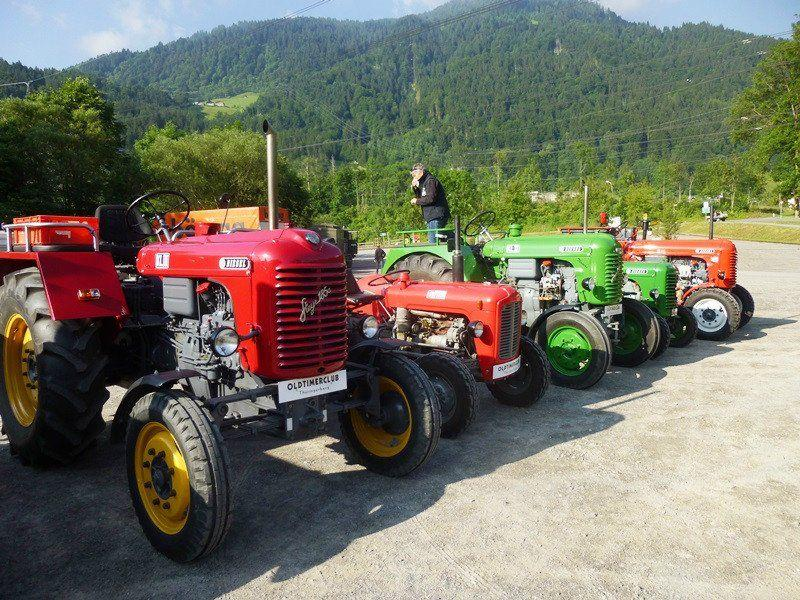 Traktora-Treffe am Samstag, 16. August 2014 ab 13 Uhr.