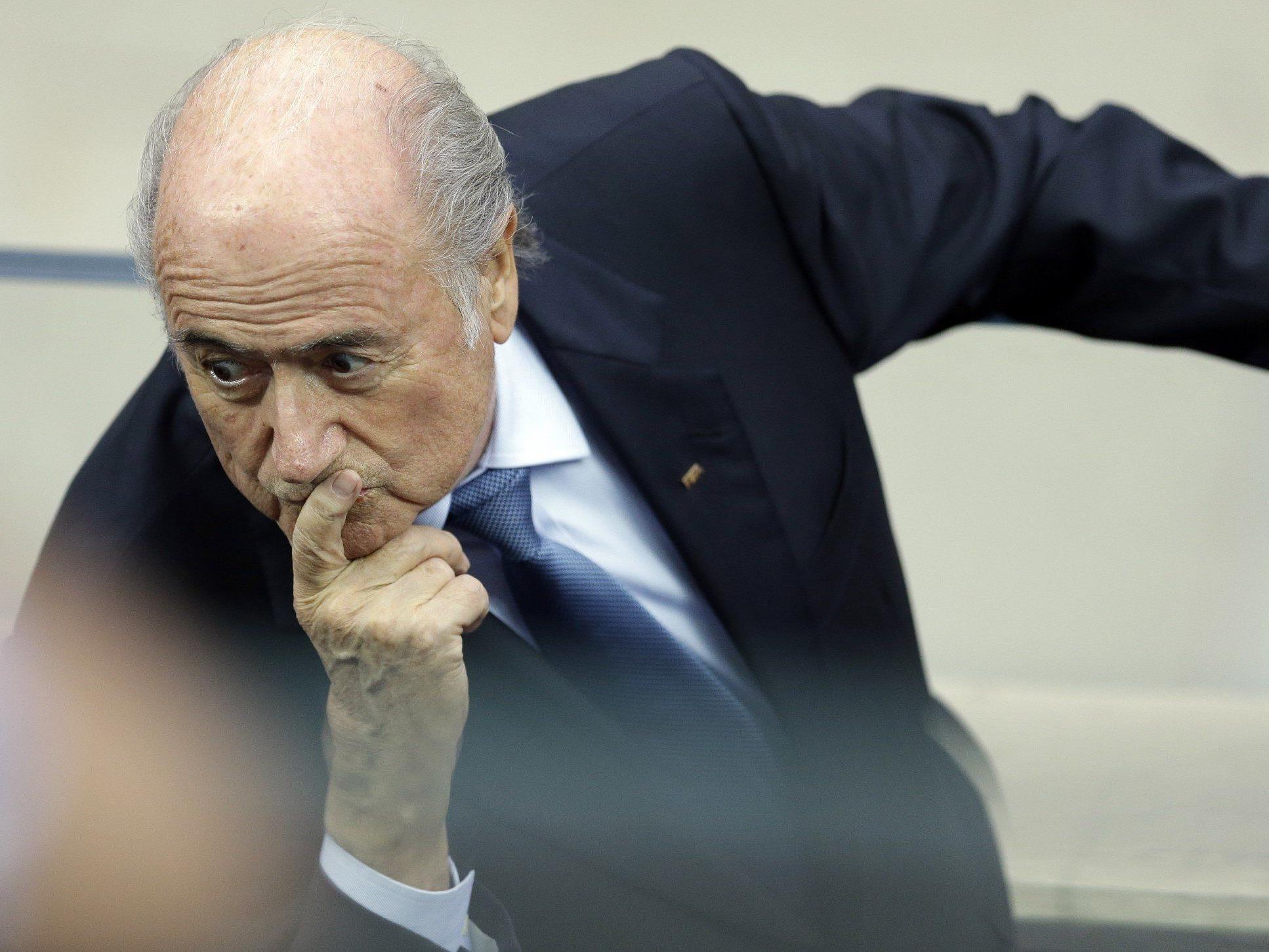 Wegweisende Termine der FIFA: Blatter-Zukunft, EM-Vergabe und mögliche Regeländerung