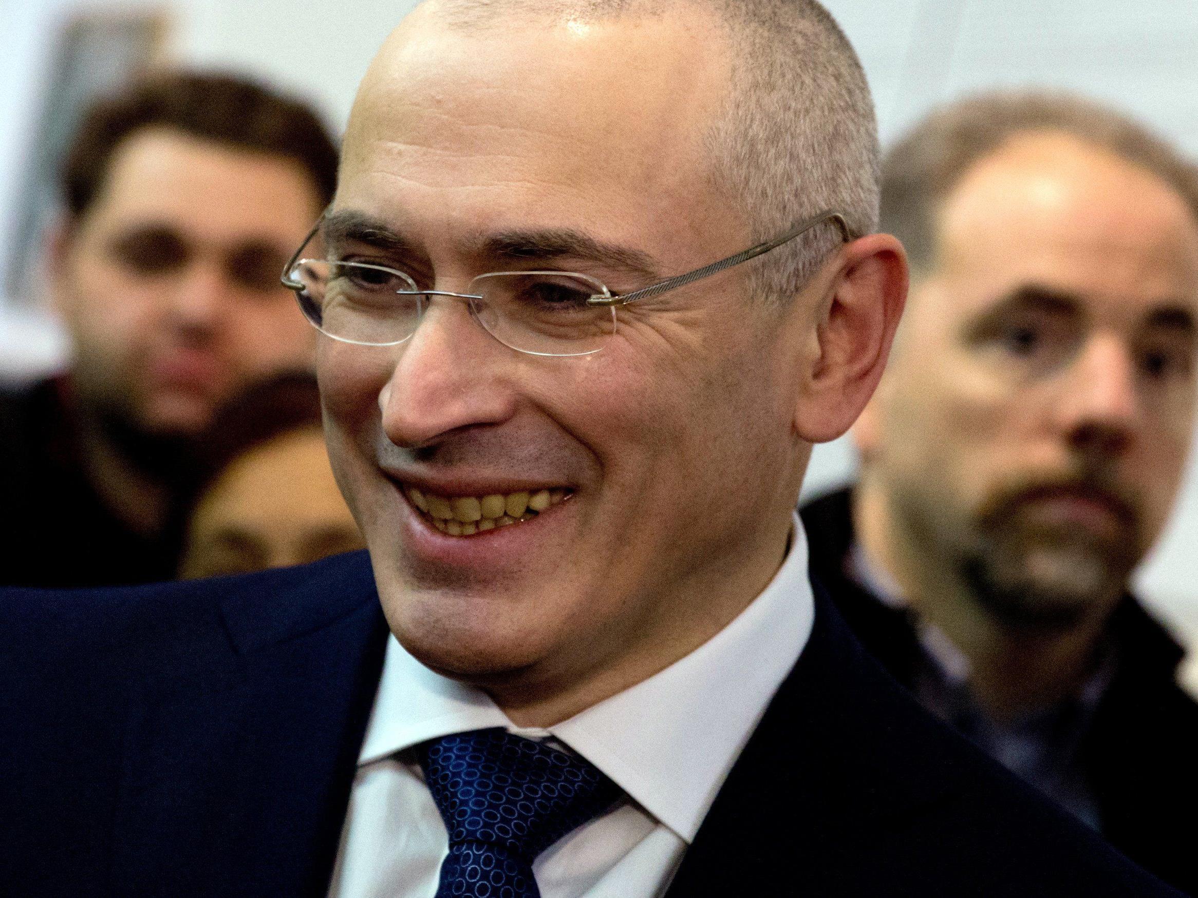 Yukos-Gründer Michail Chodorkowski dürfte das Urteil mit Genugtuung aufnehmen.