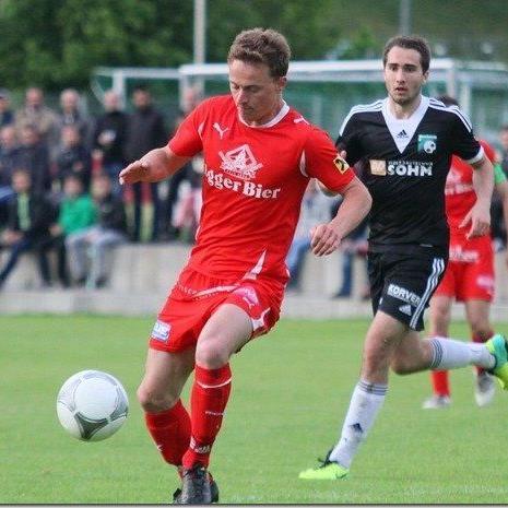Elias Meusburger trifft mit dem FC Egg am Sonntag auf den Titelverteidiger Andelsbuch.