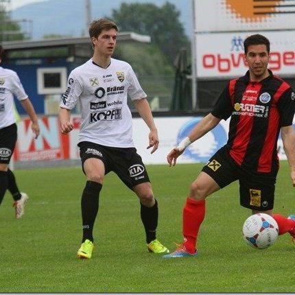 Freistoßspezialist Metin Batir hofft mit Hard im Auswärtsspiel in Seekirchen auf die ersten Punkte.