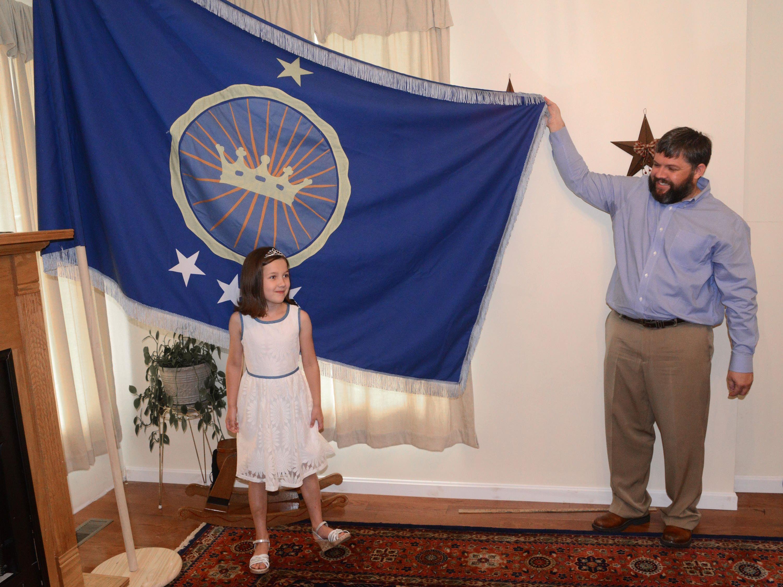 Emily Heaton und ihr Vater