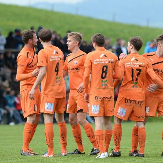 Vorarlbergliga Champion Bizau will in der Westliga Erfahrung sammeln.