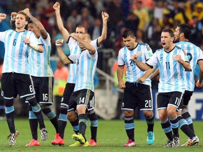 Argentinien jubelt über Finaleinzug